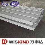 De plaque métallique préfabriqué de bonne qualité d'OIN de la Chine Wiskind pour le toit