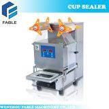 Frucht-Getränk-Cup-Dichtungs-Maschine der Wärme-Fb480 mit Edelstahl