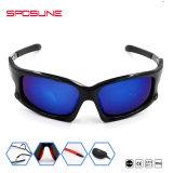 卸し売り青いパソコンの保護スポーツチームサングラスのスノーボードのサングラス