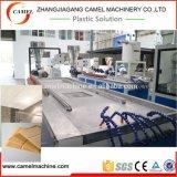 Linha de produção plástica da placa de reforço do teto do PVC