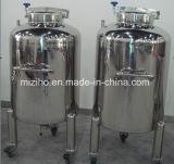 Veste en acier inoxydable 200L Navire mélangeant réservoir réservoir d'agitation