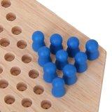 Jouet en bois adulte Enfant Conseil interaction d'échecs jeu de dames hexagonal