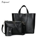 Raccoglitore stabilito delle signore del sacchetto poco costoso dell'unità di elaborazione per la borsa delle donne