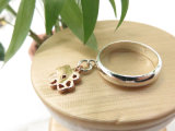 Fashion Girls Accessory Clover counterpart of ring for graduation poison