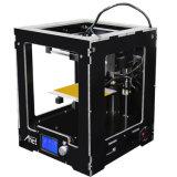 Imprimante de bureau complètement assemblée de la haute précision 3D d'Anet A3 avec 10m la carte SD libre des filaments 16GB