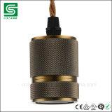 Kontaktbuchse-klassischer Retro Metalllampenhalter der Edison-Weinlese-industrieller Lampen-E27