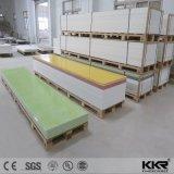 Mármore artificial lajes de superfície contínuas acrílicas veadas