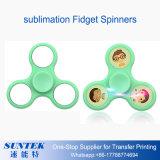 2.o El juguete en blanco del hilandero de la persona agitada de la sublimación releva a hilandero de la mano de la tensión