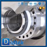 Didtek LNG criogenico -196º Valvola a sfera del perno di articolazione dell'acciaio inossidabile di C