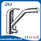 Escolhir o misturador do dissipador da maneira do Faucet 3 da cozinha da água bebendo do punho