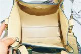 倍のハンドルおよび長いストラップ(ZXK1840)が付いているデザイナーPUのハンドバッグ