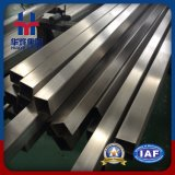 tubo inossidabile di superficie del quadrato dell'acciaio inossidabile di 2b/Ba Hr/Cr