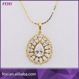 Hotsale Fashion zircone laiton Ensembles de bijoux en or pour les filles