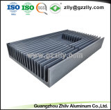 La pulverización de alta calidad de los fluorocarburos disipador de aluminio extruido