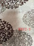Klassisches Muster fertigen Jacquardwebstuhl-Goldluxuxvorhang-Gewebe kundenspezifisch an