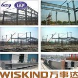 Nueva casa de pollo prefabricada económica del edificio del marco de acero