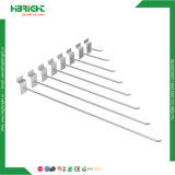 Крюки индикации Slatwall розницы крома провода для магазина