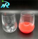 Copo de vinho de plástico Dinnerware Louça de mesa