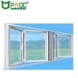 Двойные окна алюминиевые безрамные складная стекла