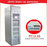 generador estático de 30kvar/50kvar/100kvar Svg Var de la eficacia total más el de 97%