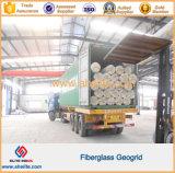 La fibra de vidrio biaxial Geogrids del negro los 80kn/M para la capa de balasto refuerza