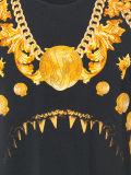 Les Mens de qualité court- le T-shirt d'impression d'or de chemises