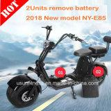 Novo Design Leve o veículo de transporte pessoal Mobilidade Scooter eléctricos rebatíveis 1000W