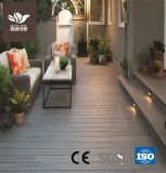 Grãos de madeira exterior WPC Material Pavimentos de madeira plástica