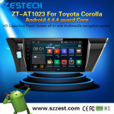 2 DIN Toyota Corollaのための人間の特徴をもつ車のDVDプレイヤーGPS車のステレオのラジオ
