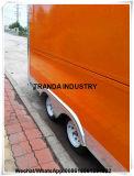 Tranda 2017 ha prodotto a rimorchio di approvvigionamento della punta di V l'alimento veloce Van di vendita di Bargin