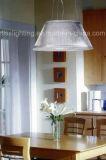 Освещение просто типа прозрачное стеклянное привесное для светильника домашнего украшения вися