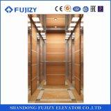 Fujziy ascensor panorámico con 630kg, 1,5 m/seg.