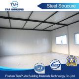 Costruzione del magazzino della costruzione del gruppo di lavoro della struttura d'acciaio con i materiali da costruzione del metallo