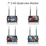 4CH 쿼드 전망 디지털 무선 모니터 및 백업 사진기