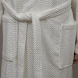 Polyester 100 Fleece Heavy Terry Dresses Gift Couple' S Bathrobe Western
