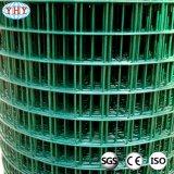 1/2inch het groene Plastiek bedekte de Gelaste Broodjes van het Netwerk van de Draad met een laag
