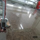20mmの厚さの純粋な灰色の人工的な設計された水晶石