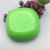 Spülmaschine-sichere organisches Material-kundenspezifische Bambusfaser-Frucht-Filterglocke-Nachtisch-Teller
