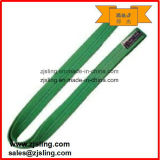 Correas planas de poliéster de carga pesada de la eslinga de trabajo y diferentes colores