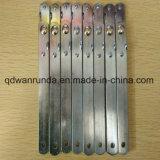 Bisagras de acero del uso de Furture con la superficie galvanizada