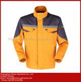 Vêtements de travail uniformes de combinaison de qualité de sûreté r3fléchissante faite sur commande de couche (W340)