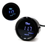 52mm Blue LED Digital Indicador de medidores de tensión electrónica