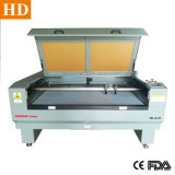 Doble cabezal máquina cortadora láser 1610