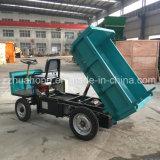Motociclo elettrico di forte potere per lo scaricatore di estrazione mineraria, 3 e 4 delle rotelle