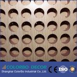 Painéis acústicos de madeira (painel acústico da madeira para paredes)