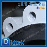 Didtekのゼロ漏出ステンレス鋼のラグナットのタイプ蝶弁