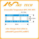 Подгонянный ярлык высокотемпературной и низкой температуры