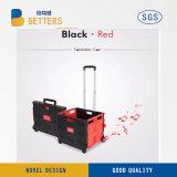 試供品の高品質の赤くおよび黒いショッピング・バッグ