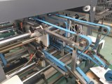 Macchina automatica di Gluer del dispositivo di piegatura della serratura di arresto Jhh-1450