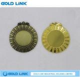 La médaille blanc de souvenir conçoivent des métiers en fonction du client de cadeau de promotion de médaillon